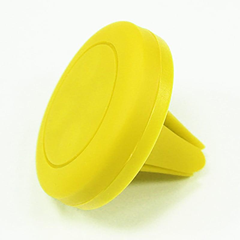 【台灣 T-WIN】手機通用磁鐵車架-Mobile Phone Car Mount (黃色)