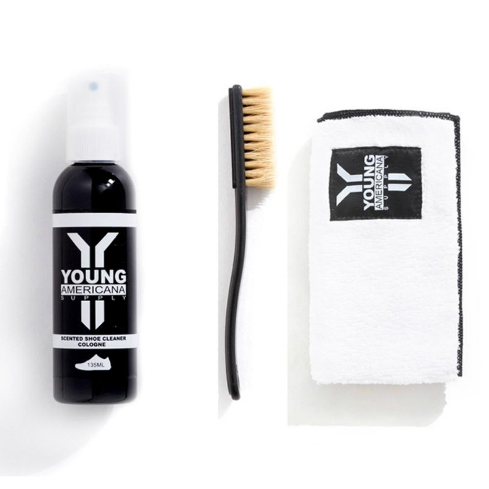【Y.A.S】美鞋神器 基本組-洗鞋劑+擦拭布-古龍水(AA0021)