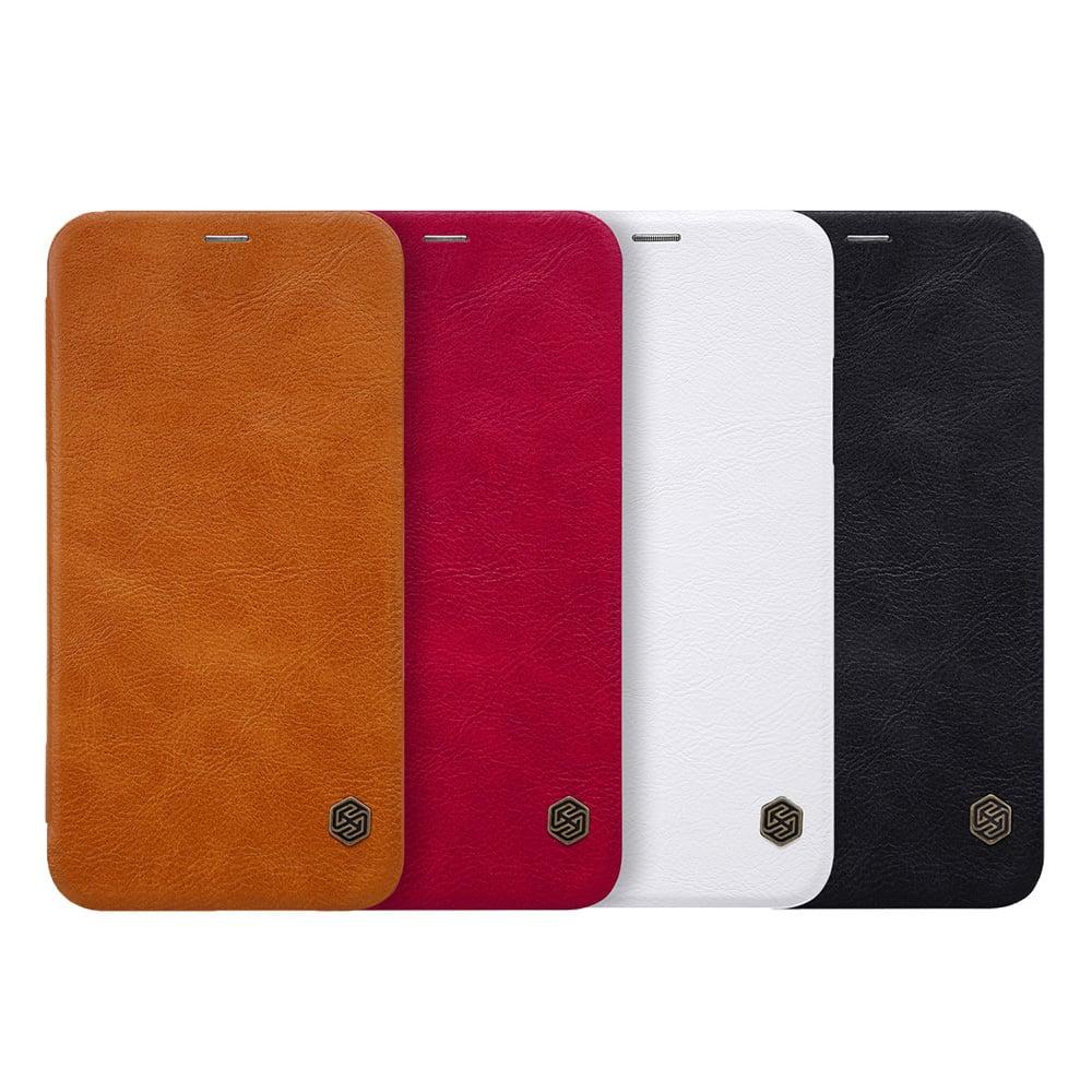 NILLKIN Apple iPhone X 秦系列皮套(紅色)