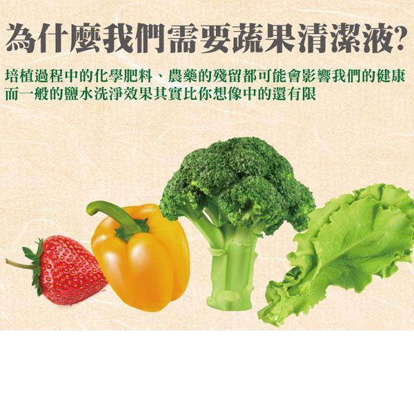 楓康一滴淨奶瓶蔬果清潔劑(檸檬精油) 300g