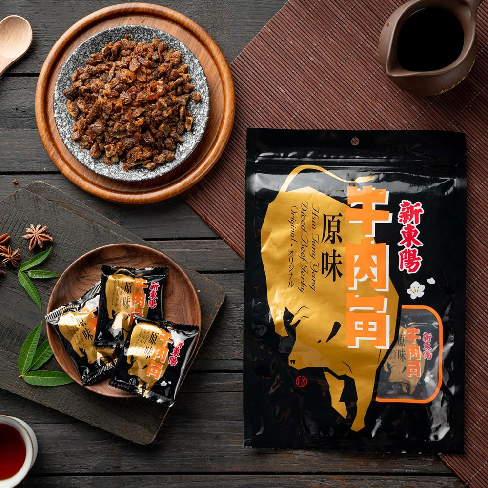 【新東陽】原味牛肉角(210g*2包)