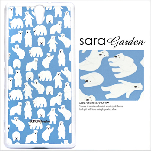 客製化 原創 Samsung 三星 Note3 手機殼 黑硬殼 北極熊