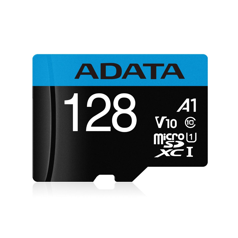 ADATA 記憶卡 MicroSD 128GB UHS-I A1 100MB/s 附轉卡
