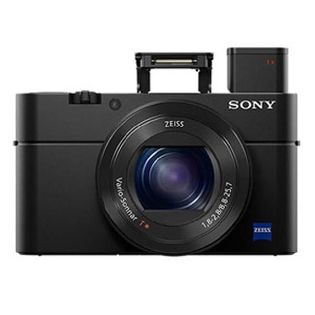 加贈原廠電池 SONY DSC-RX100M3 大光圈相機 (公司貨) 再送64G卡+原廠ACC-TRDCX電池座充組超值組