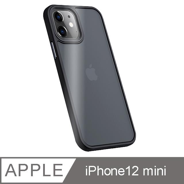 "Benks iPhone12 mini (5.4"") 防摔膚感手機殼-霧黑"