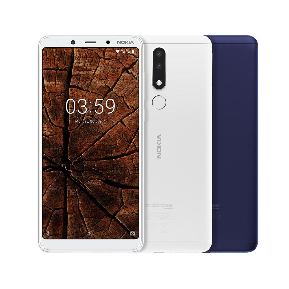 NOKIA 3.1 Plus 6吋八核心 (3G/32G) 智慧型手機 藍色-贈精美證件夾