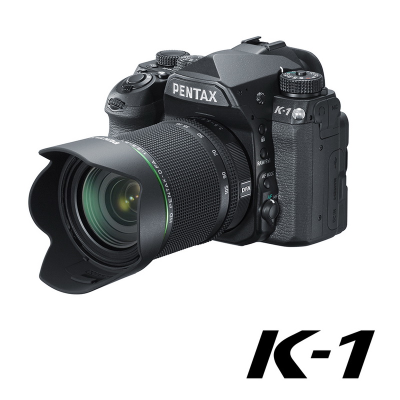 PENTAX K-1+HD DFA 28-105mm變焦旅遊單鏡組【公司貨】※上網註冊送對應之電池手把
