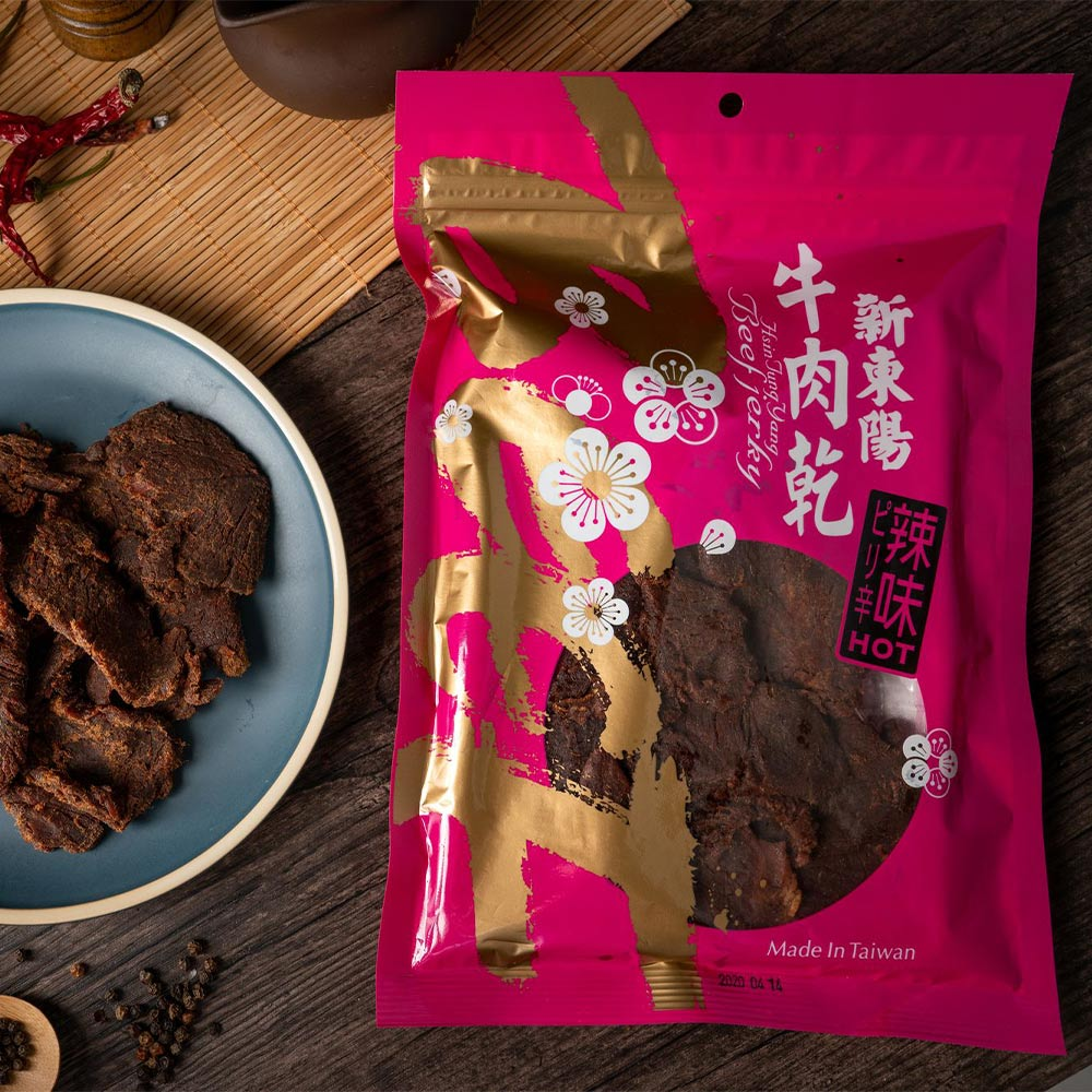【新東陽】辣味牛肉乾(230g*2包)