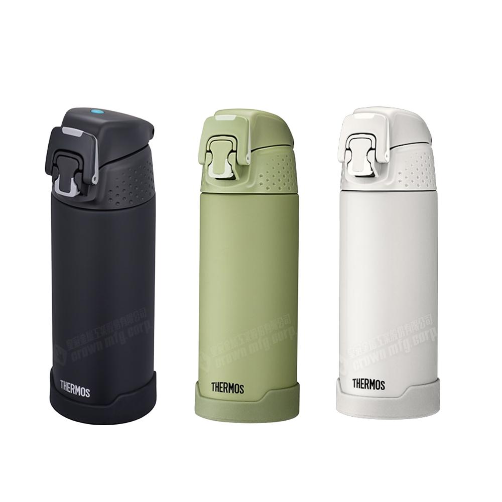 膳魔師500cc不銹鋼真空保溫瓶保冷瓶霧面綠保溫杯FJH-500-GR