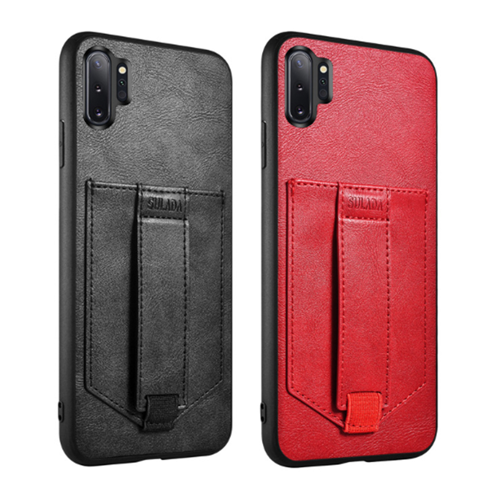 SULADA SAMSUNG Galaxy Note 10 卡酷保護套(黑色)