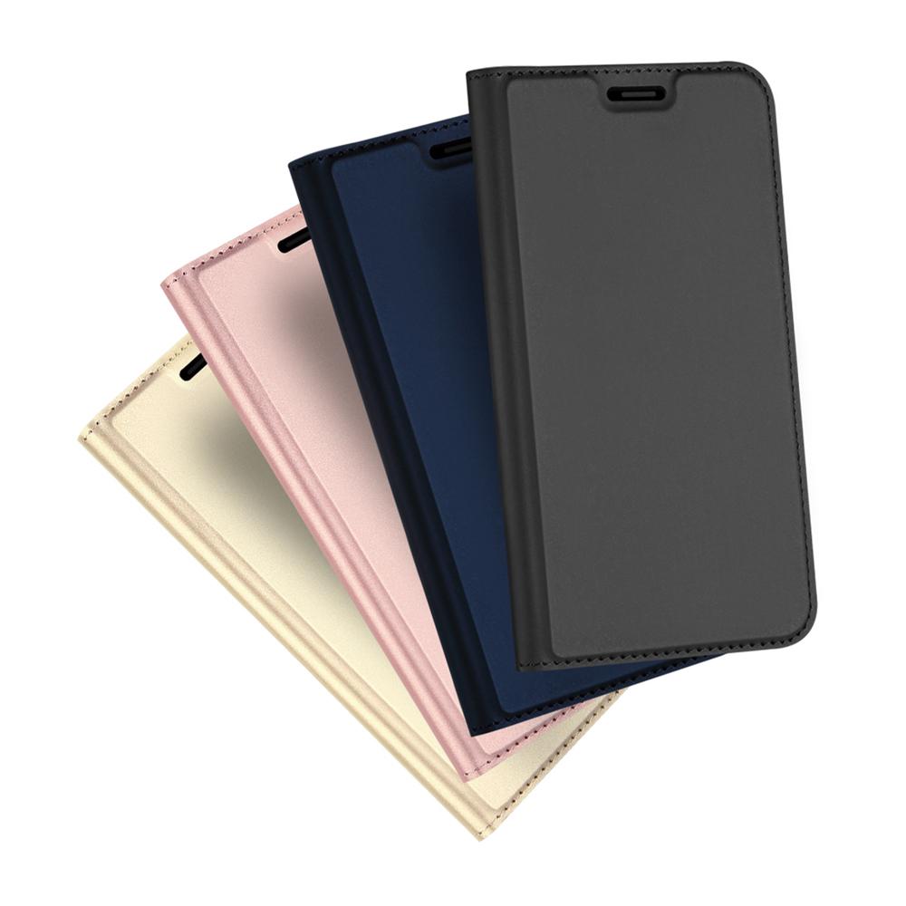 DUX DUCIS Apple iPhone XR SKIN Pro 皮套(金色)