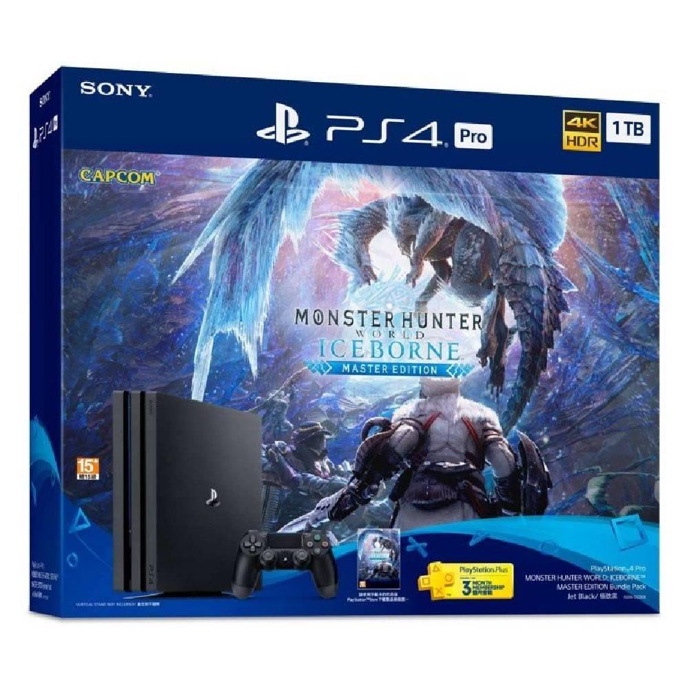 SONY PS4 Pro 魔物獵人 世界:Iceborne 同捆組