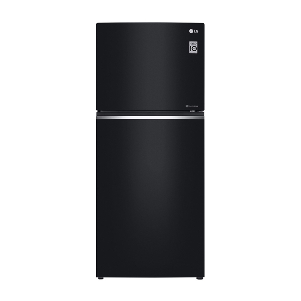 LG樂金 直驅變頻上下門冰箱 / 曜石黑 GN-BL430GB