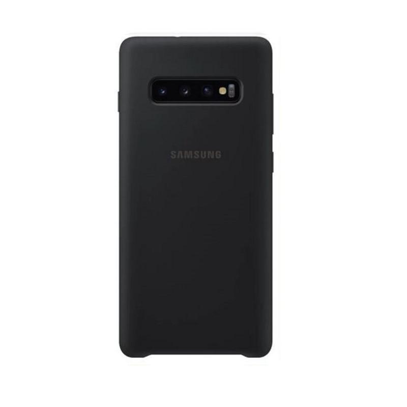 SAMSUNG Galaxy S10+ 薄型背蓋 矽膠材質 黑
