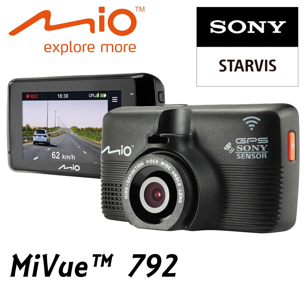 Mio 792 行車紀錄器 星光級SONY WIFI 測速1080p