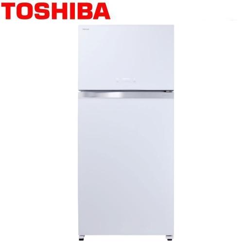 【TOSHIBA東芝】608L雙門變頻玻璃鏡面冰箱GR-WG66TDZ(ZW)