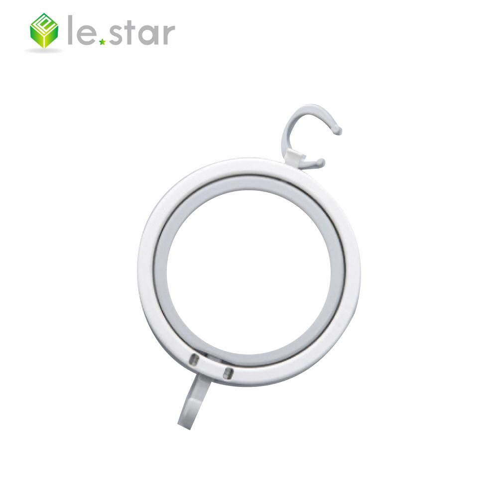lestar 馬卡龍系列多用途帽子收納環、架組 白色+灰色