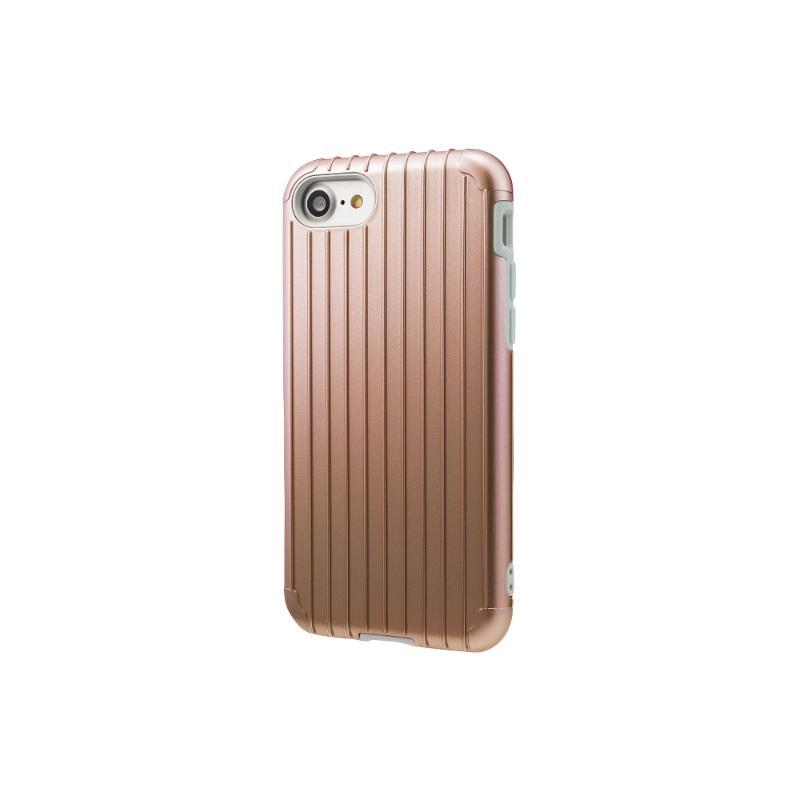 Gramas iPhone8/7  經典手機殼 Rib 玫瑰金