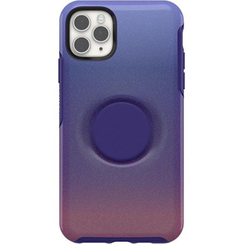 OtterBox 炫彩幾何泡泡騷保護殼iPhone 11 Pro Max 6.5 紫藍