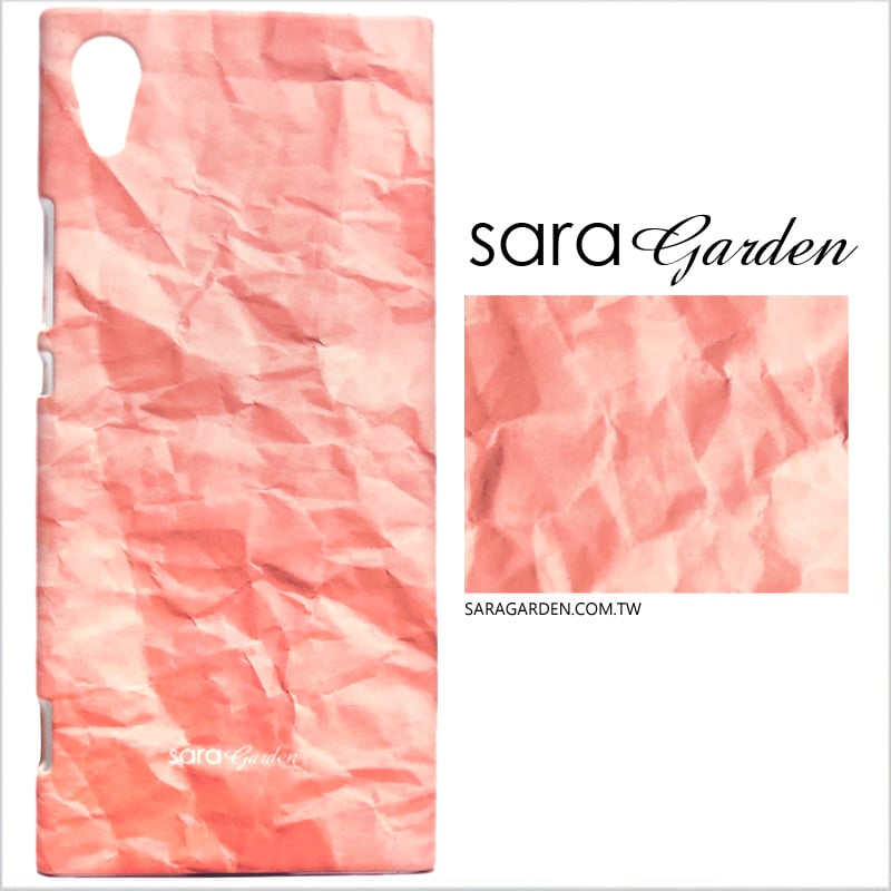 【Sara Garden】客製化 手機殼 蘋果 iphone7plus iphone8plus i7+ i8+ 漸層粉皺褶 手工 保護殼 硬殼