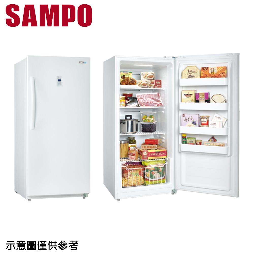 【SAMPO聲寶】391公升直立式冷凍櫃SRF-390F