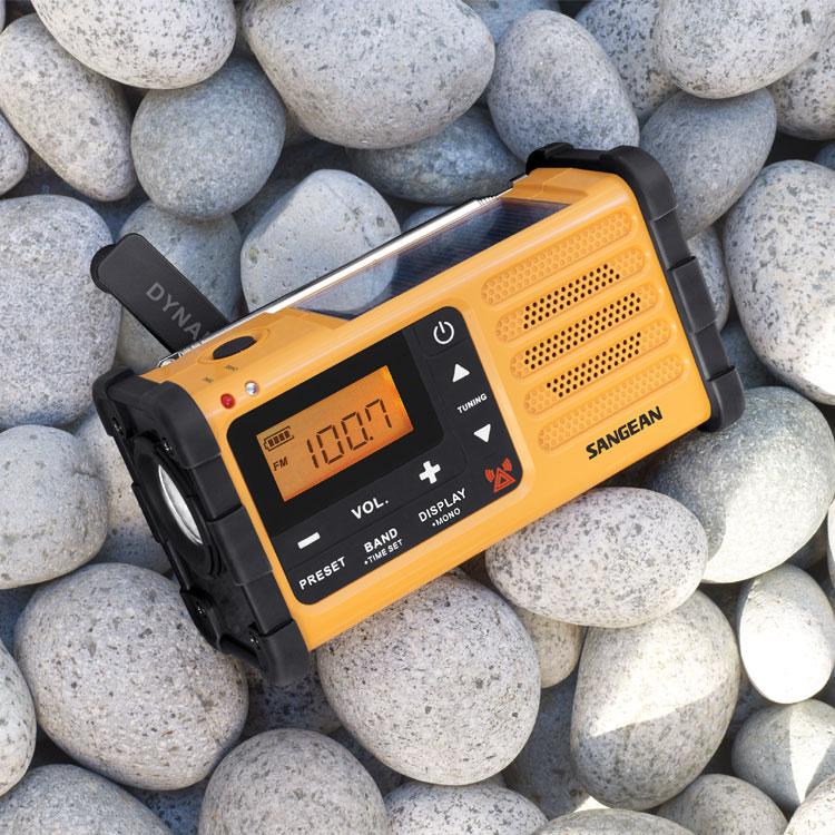 山進SANGEAN- MMR-88調幅 / 調頻 防災收音機 FM/AM/警報/手電筒/充電
