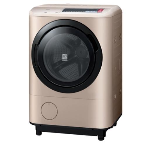 ★HITACHI日立 溫水擺動式飛瀑12.5kg滾筒洗脫烘衣機 右開 BDNX125BHJR