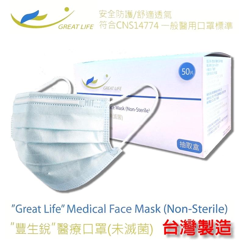 MIT台灣製醫療口罩2盒(50入/盒)