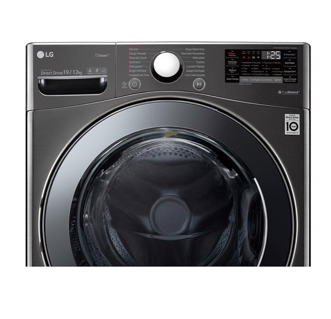LG樂金 WD-S19VBS WiFi滾筒洗衣機(蒸洗脫烘) 尊爵黑 / 19公斤(贈直流風扇、28公分炒鍋)含基本運送、安裝