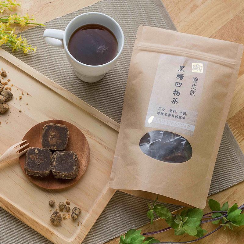 【買六送一】糖鼎養生茶超值六入組贈輕巧包-黑糖四物茶+冰糖菊花茶