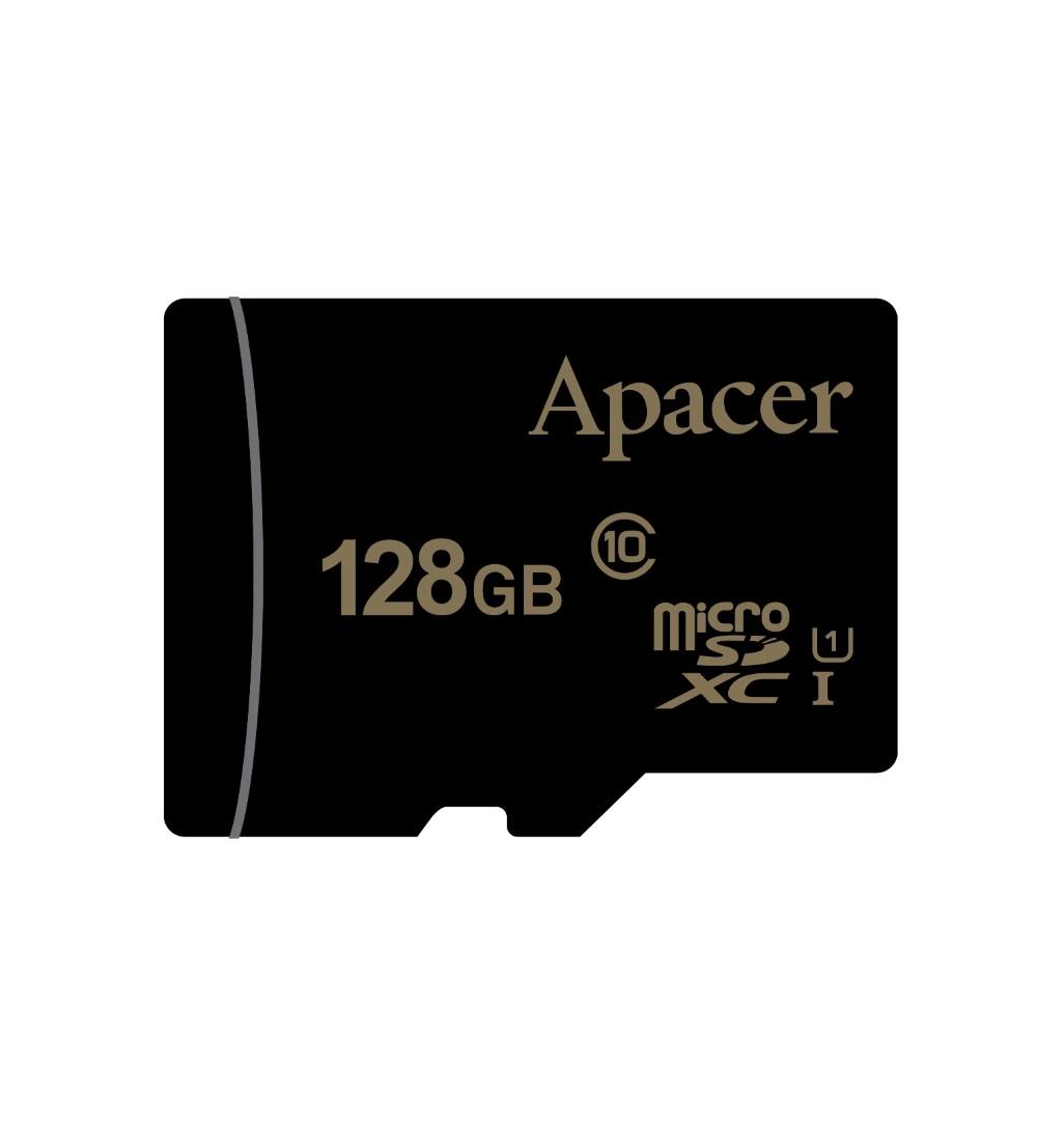 記憶卡Apacer microSDXC 128GB UHS-I 附轉卡