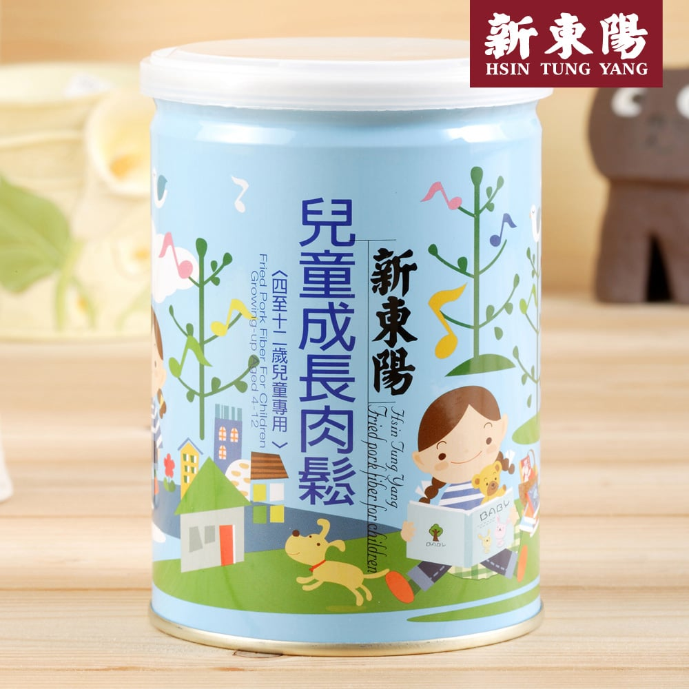 【新東陽】兒童成長肉鬆 (190g*3罐),免運