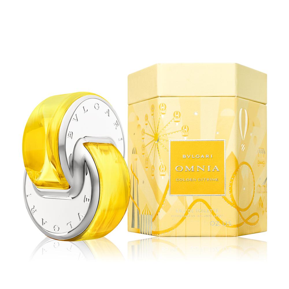 BVLGARI 寶格麗 晶耀2020限量版淡香水 Omnia Golden citrine(40ml) EDT-公司貨