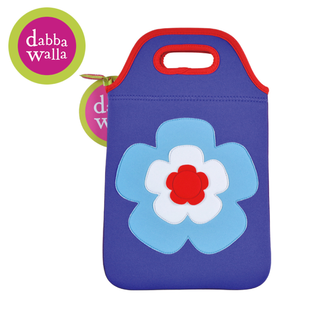 美國Dabbawalla瓦拉包 -花朵兒童平板袋