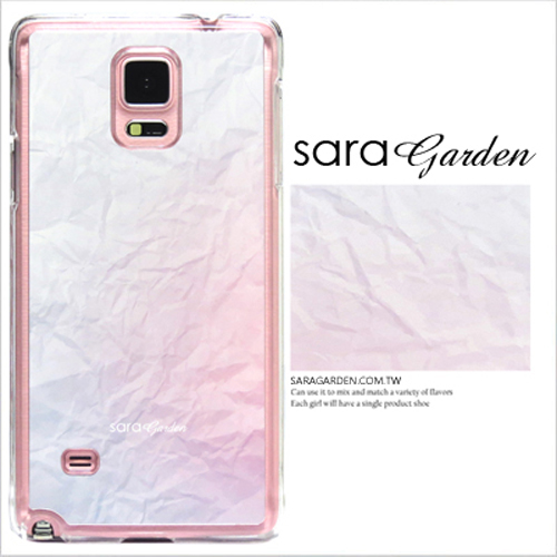 客製化 原創 Samsung 三星 J7 手機殼 透明 硬殼 皺褶雲彩