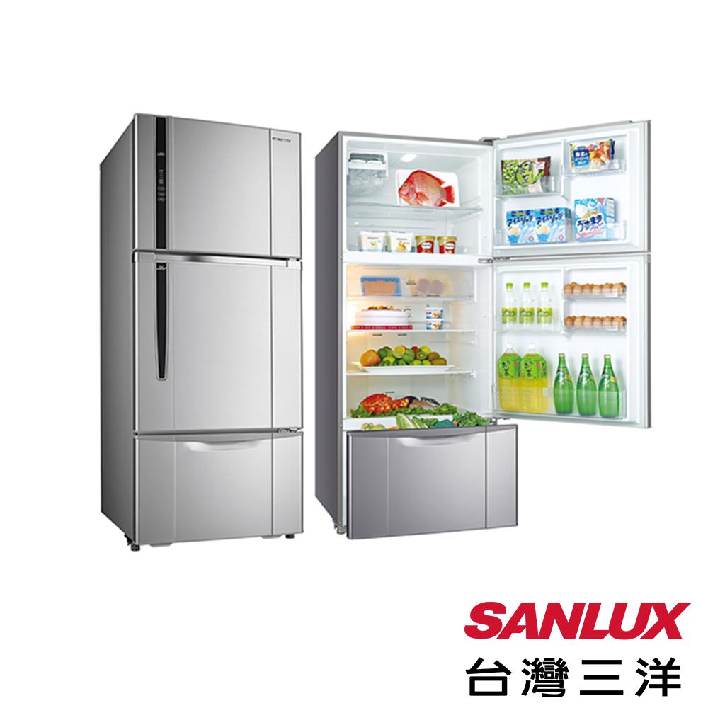 台灣三洋 SANLUX 580L三門直流變頻電冰箱 SR-B580CV