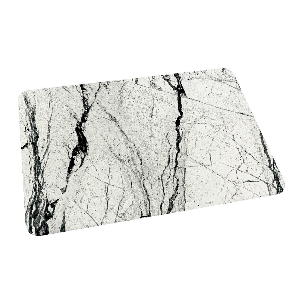 【網狐家居】大理石紋系列珪藻土吸水地墊 (大理石紋-1)