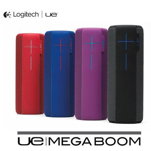 【羅技 UE】 MEGABOOM 防潑水 防撞 NFC 無線藍牙喇叭 紅色