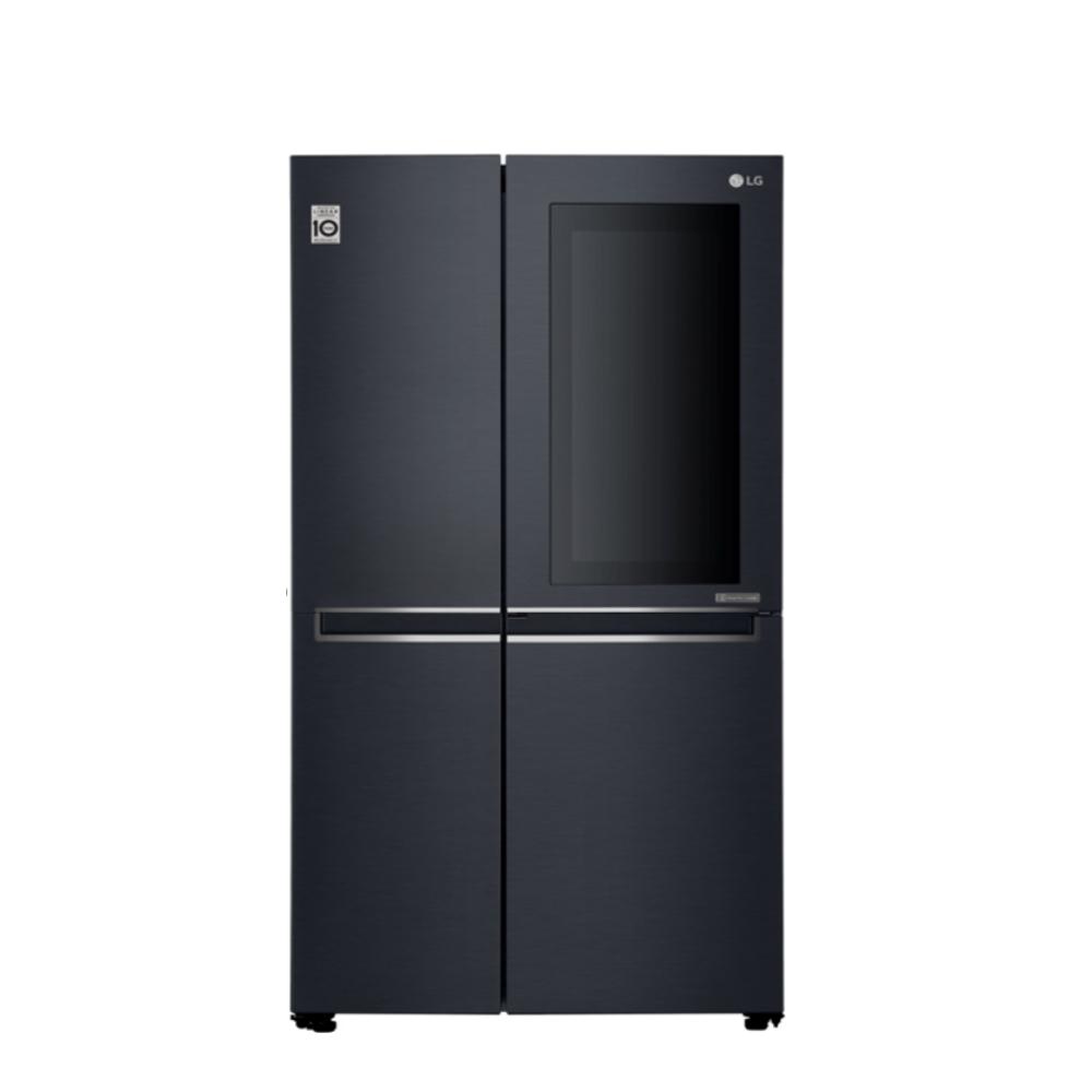 送陶板屋餐券4張★LG樂金630公升敲敲看門中門對開WIFI冰箱GR-QL66MB