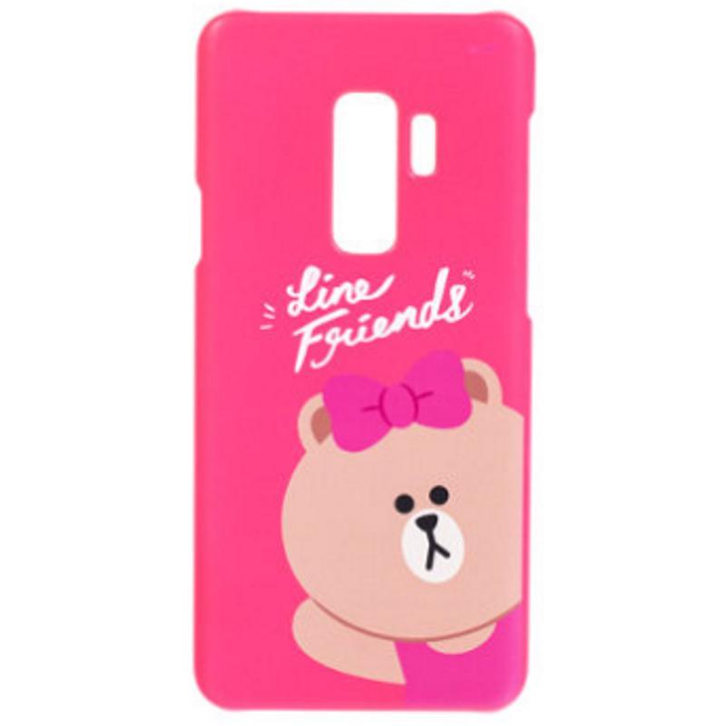 SAMSUNG Galaxy S9+ LINE Choco熊大妹  FRIENDS 背蓋
