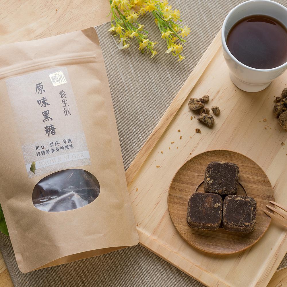 【買六送一】糖鼎養生茶超值六入組贈輕巧包-原味黑糖+黑糖桂圓紅棗茶