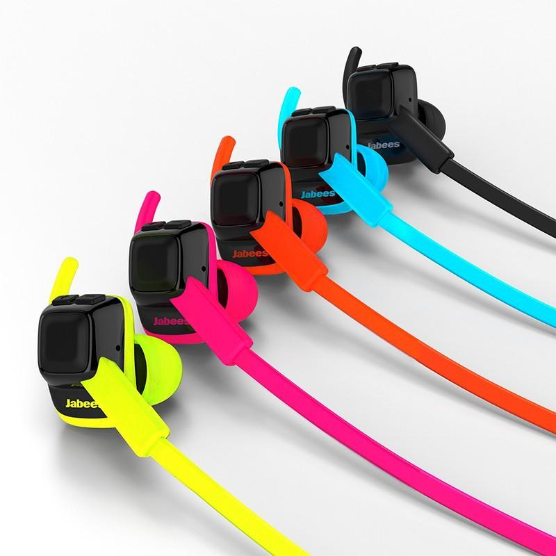 Jabees beatING 專業運動型藍牙耳機 - 橘色