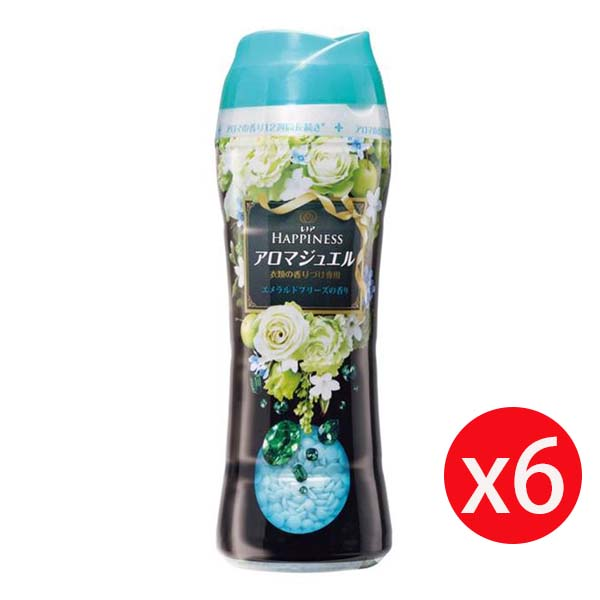 Lenor 蘭諾衣物芳香豆 520ML 清晨草木 *6瓶