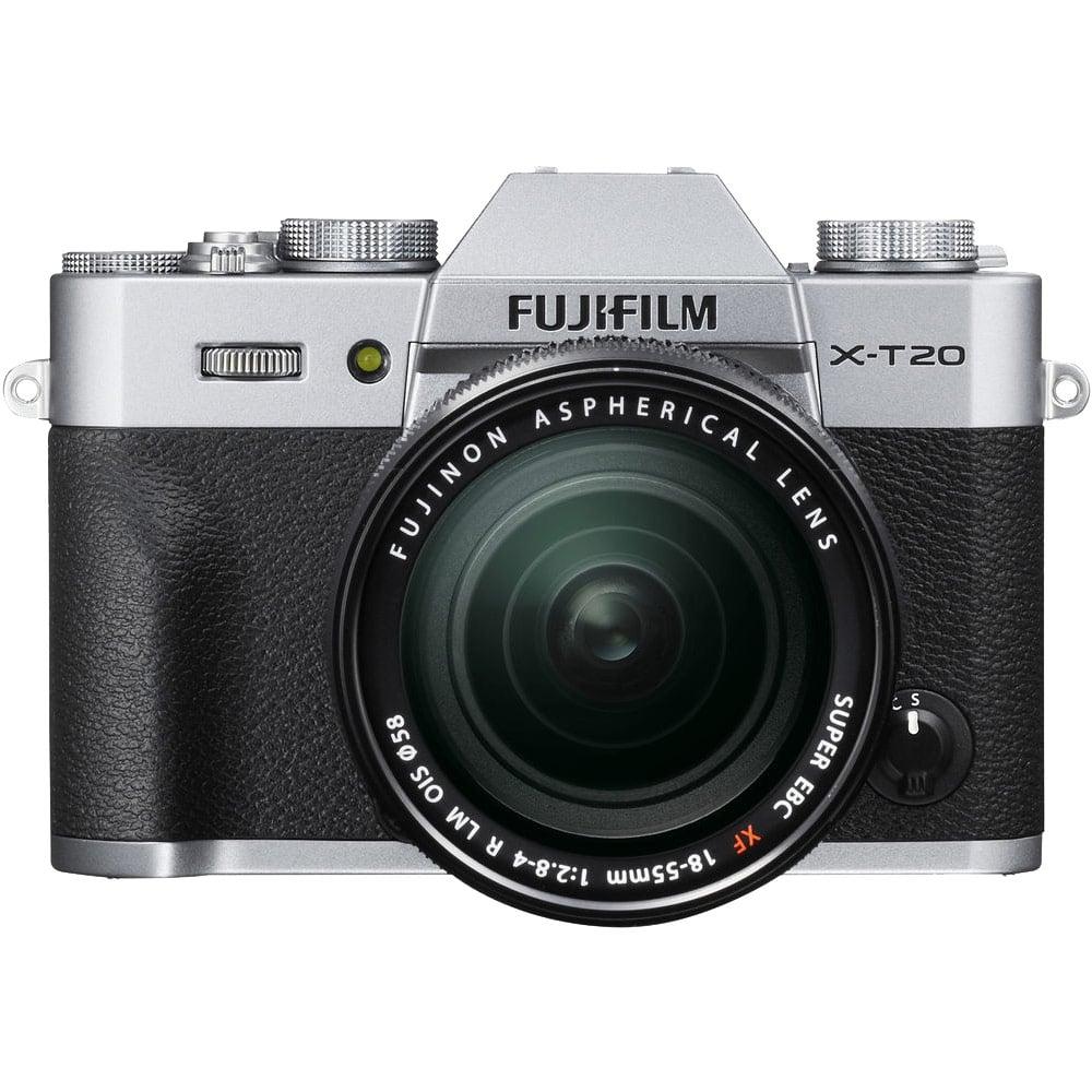 FUJIFILM X-T20 18-55mm 變焦鏡組(公司貨)_銀色