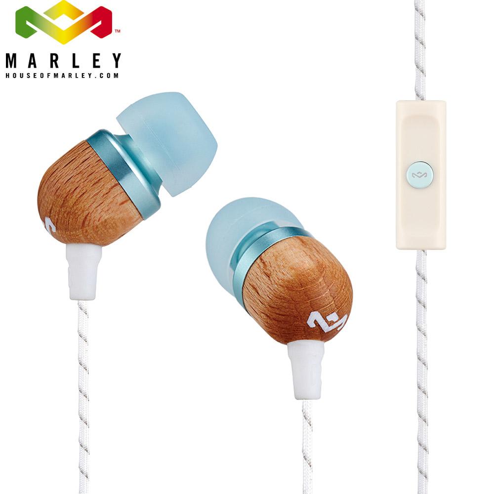 Marley Smile Jamaica - 1BM - 微笑牙買加單鍵入耳式耳機 - 天空藍(JE041-SK)