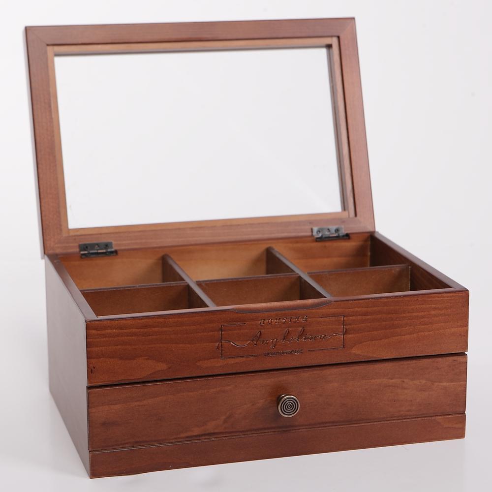 Angelina美粧置物架附抽屜飾品盒-生活工場