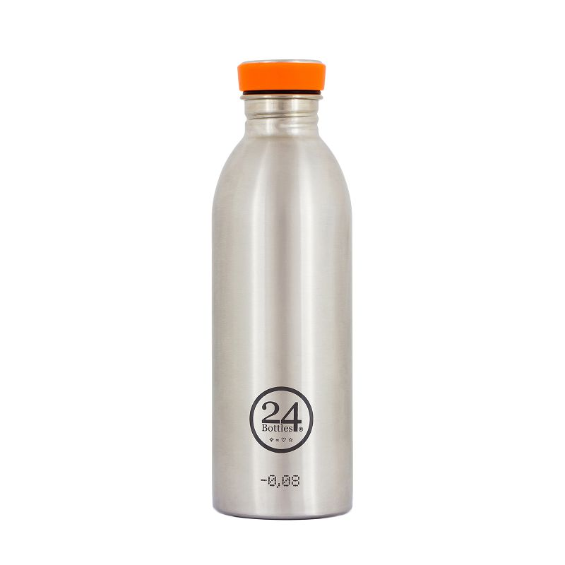 義大利 24Bottles 城市水瓶 500ml - 不鏽鋼