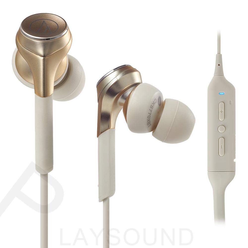 鐵三角 CKS770XBT香檳金色CG無線 藍牙 入耳式耳機
