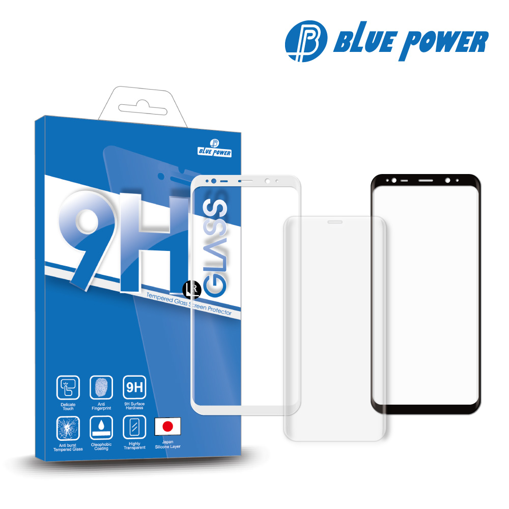 BLUE POWER Sony Xperia XA2 3D 曲面 滿版 9H鋼化玻璃保護貼 -透明