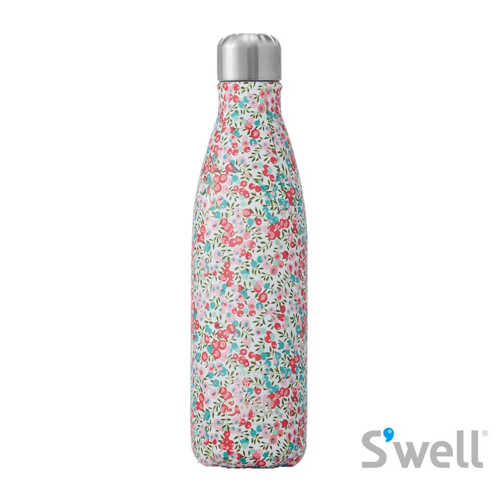 【S'well】紐約時尚不鏽鋼保冷保溫瓶-Liberty Fabrics&S'well系列 Witlshire 17oz(500ml)
